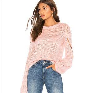 Tularosa Mia open knit sweater